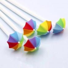עט מטריה בצבעי הקשת