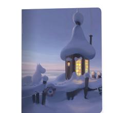 פנקס מומינים- בית השלג
