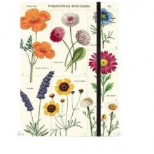 מחברת פרחים WILDFLOWERS