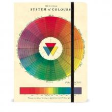 מחברת גלגל הצבעים COLOR WHEEL