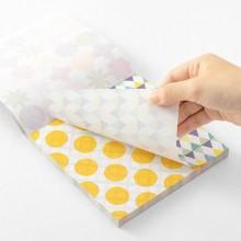 בלוק ניירות אוריגמי- צבעים בהירים