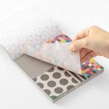 בלוק ניירות אוריגמי- צבעים חזקים
