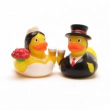 זוג ברווזים מיני חתן כלה