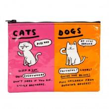 נרתיק דגם חתולים או כלבים