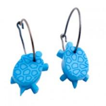 עגילי צבים כחולים