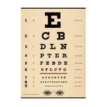פוסטר/ נייר אריזה- בדיקת ראייה