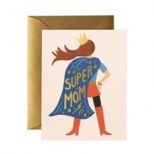 כרטיס ברכה לאמא SUPER MOM