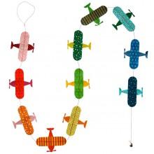 מובייל מטוסים צבעוניים