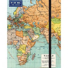 מחברת מפת העולם world map