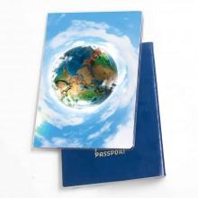 כיסוי דרכון דגם כדור הארץ