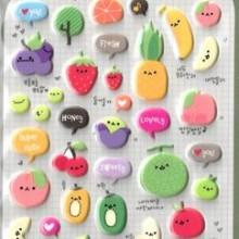 מדבקות פירות