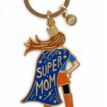 מחזיק מפתחות סופר אמא