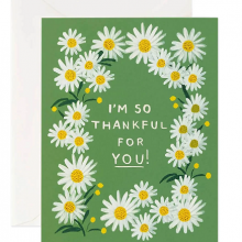 כרטיס ברכה Thankful