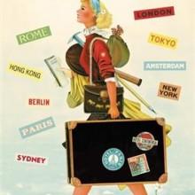 פוסטר/ נייר אריזה- see the world