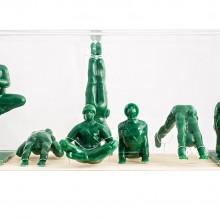 סט חיילי יוגה Yoga Joes ירוק