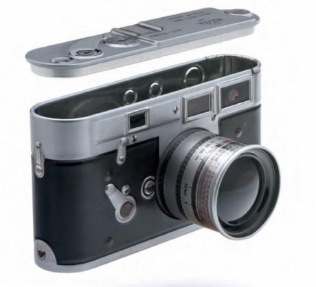 קופסת פח מצלמה